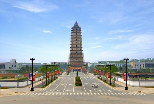 崇文塔公园景观道路工程